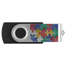Autism Awareness USB USB Flash Drive