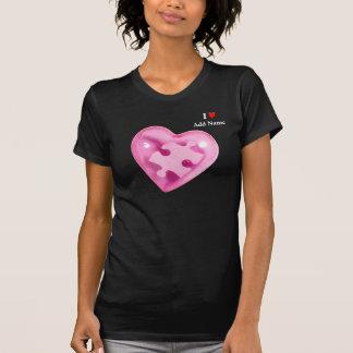 Autism Awareness Womens Shirt Pink Heart Customize