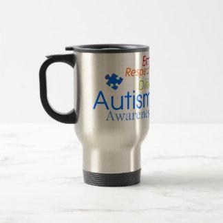 Autism Awareness Word Art Mugs