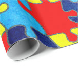 Autism Awareness Wrapping Paper
