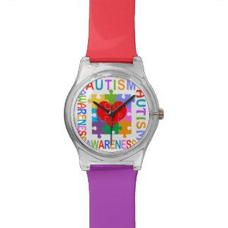 Autism Awareness Wristwatch