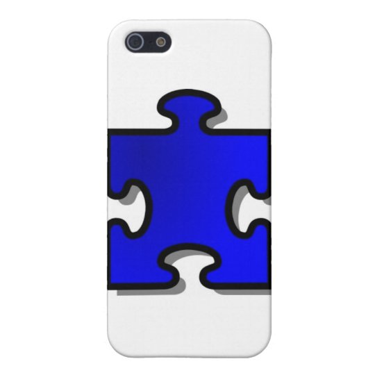Autism Awarenss, Blue puzzle piece, Autistic item iPhone SE/5/5s Cover