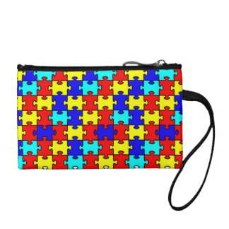 Autism Awarenss Coin Wallet