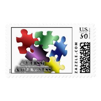 Autism Awarenss Postage