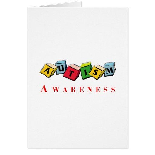 Autism Awaress Greeting Card
