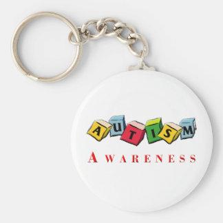Autism Awaress Keychain