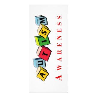 Autism Awaress Rack Card Design