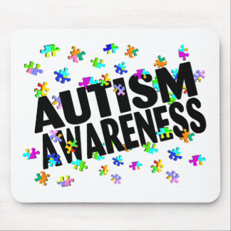 Autism Awarness Mouse Pad