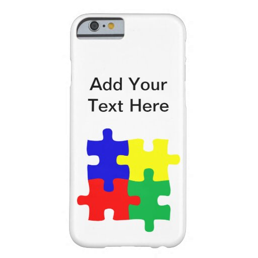 Autism Barely There iPhone 6 Case