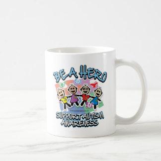 Autism Be A Hero Coffee Mug