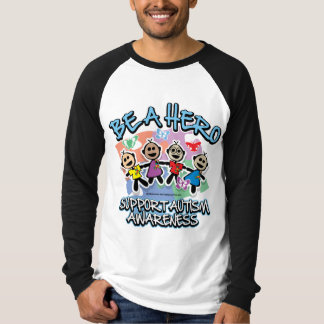 Autism Be A Hero T Shirt