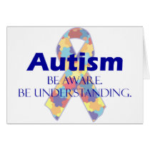 Autism be aware be understanding