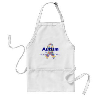 Autism be aware be understanding aprons