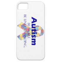 Autism be aware be understanding iPhone SE/5/5s case