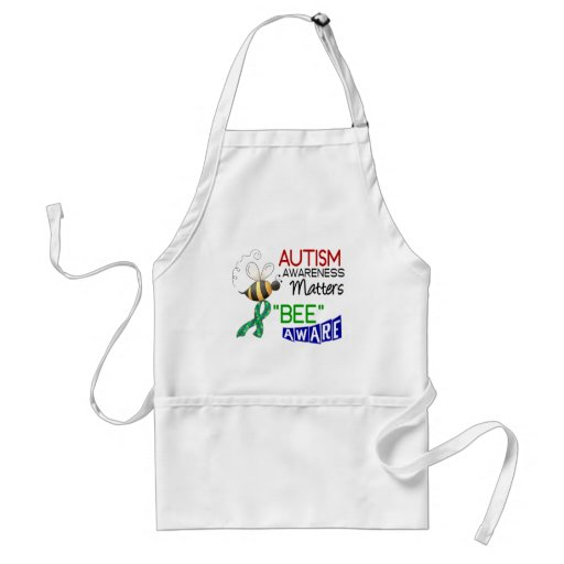 Autism BEE AWARE 1 Adult Apron
