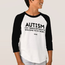 Autism -  Boys' American Apparel T-Shirt