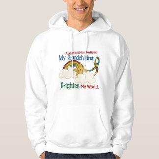 Autism BRIGHTEN MY WORLD 1 Grandchildren 2 Hoodie
