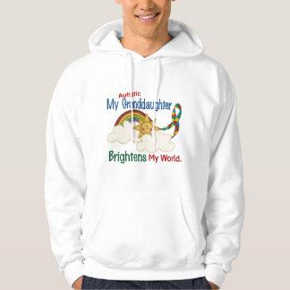 Autism BRIGHTENS MY WORLD 1 Granddaughter Hoodie