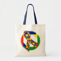 autism, budget, tote, education, school, shopping, children, girls, special-needs, Bag with custom graphic design