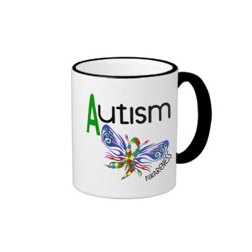AUTISM Butterfly 3.1 Coffee Mug