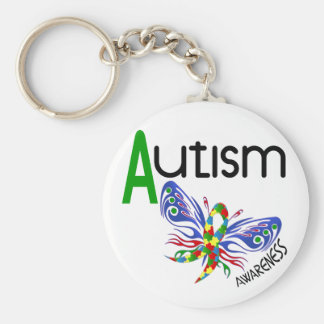AUTISM Butterfly 3.1 Keychain