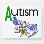 AUTISM Butterfly 3.1 Mouse Pads