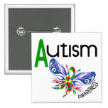 AUTISM Butterfly 3.1 Pinback Buttons