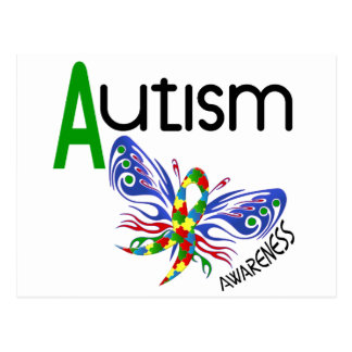 AUTISM Butterfly 3.1 Postcards