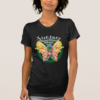 Autism Butterfly 3 Tee Shirts
