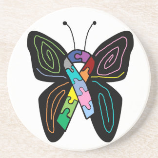 Autism Butterfly  coaster