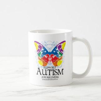 Autism Butterfly Coffee Mug