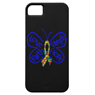 Autism Butterfly Inspiring Words iPhone 5 Covers