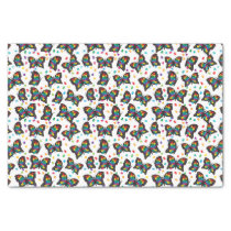 Autism Butterfly Pattern Autism Awareness Tissue Paper