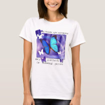Autism Butterfly Puzzle T-Shirt
