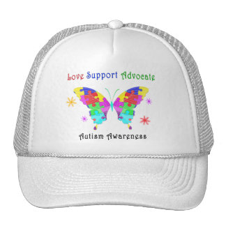 Autism Butterfly Trucker Hat