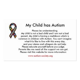 Autism cards profilecard