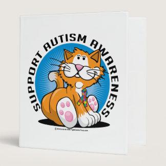 Autism Cat 3 Ring Binder