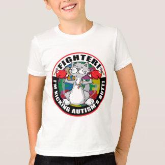 Autism Cat Fighter T-Shirt