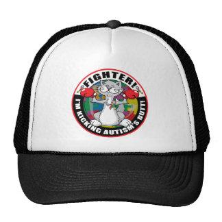 Autism Cat Fighter Trucker Hat
