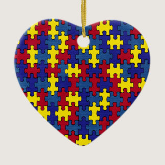 Autism Ceramic Ornament