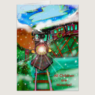 Autism Charity Christmas Card