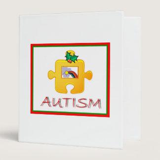 Autism Christmas Avery Binder