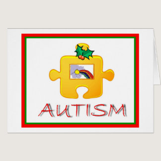 Autism Christmas Card