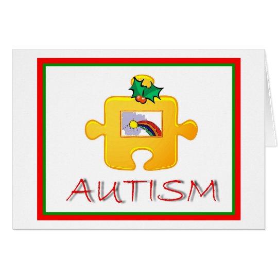 Autism Christmas Card