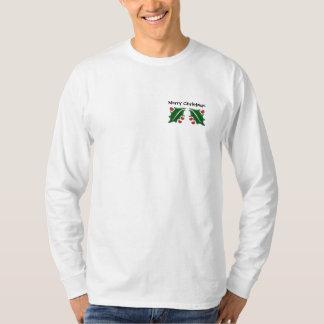 Autism Christmas Holly - light shirt