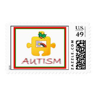 Autism Christmas Postage