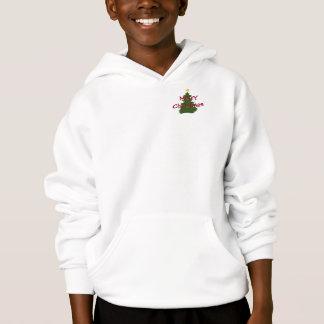 Autism Christmas Tree hoodie - light