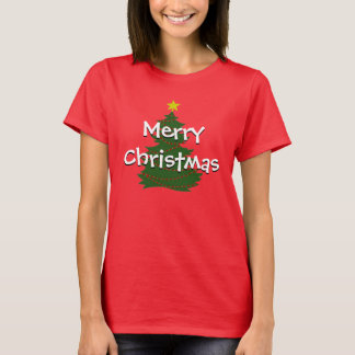 Autism Christmas Tree shirt (dark)