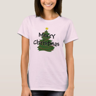 Autism Christmas Tree shirt - light