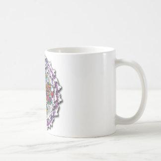 Autism Circular Puzzle Coffee Mug
